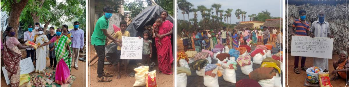 Distribution of Dry Ration to Vulnerable Families