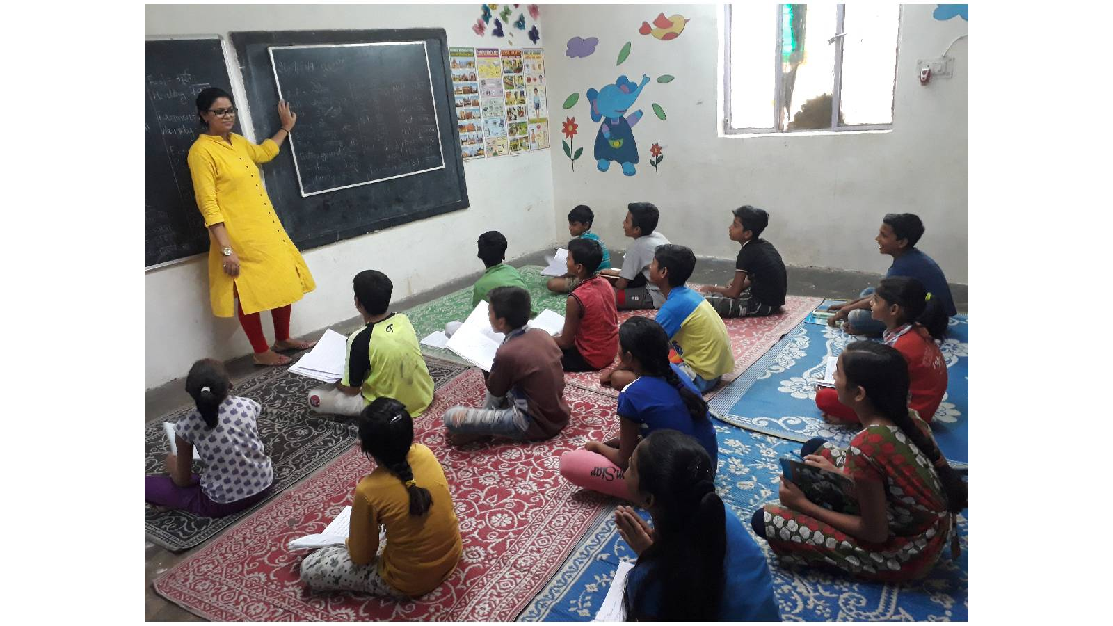Inside our remedial education classes