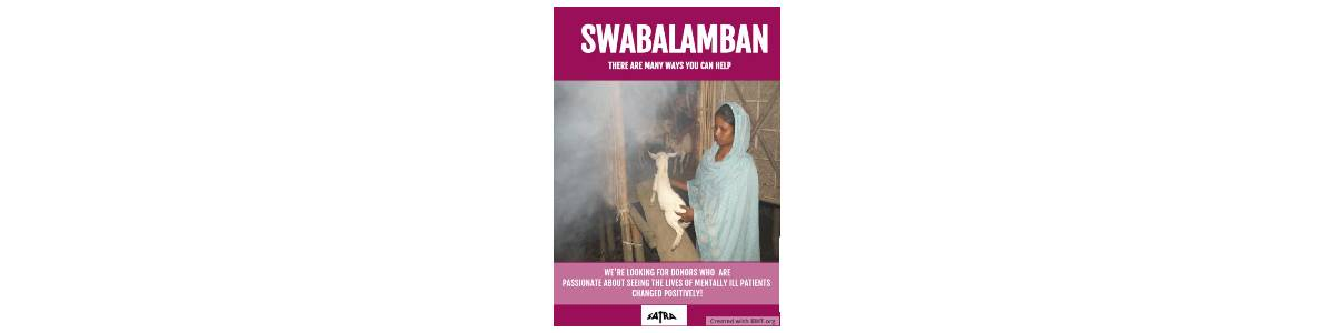 Swabalamban (Self Reliance) for mentally ill patients
