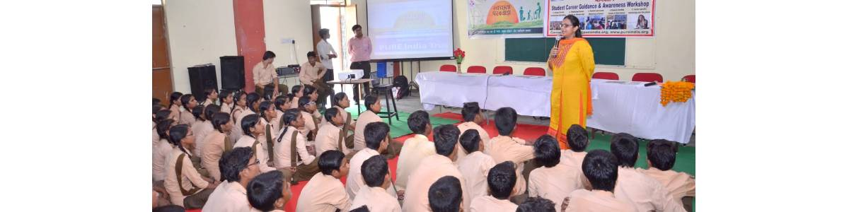 Support a Career Seminar in a School
