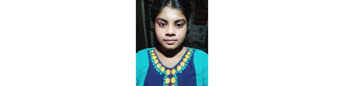 Only INR 12,000 can support a domestic worker's daughter. URGENT APPEAL