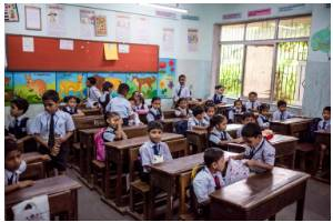 Your tax saving can be a gift of quality education! Give an underprivileged child in urban Mumbai a tuition free English medium education in a school with holistic education.