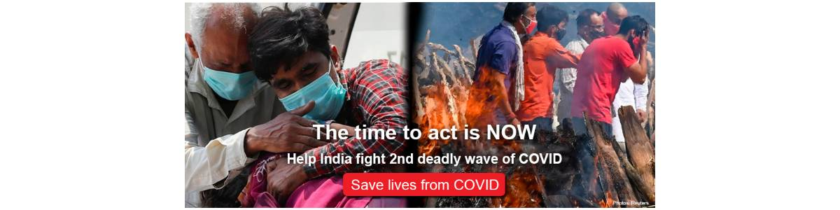 Smile always COVID Response is active again. India's deadly second wave of coronavirus has triggered an urgent call to action.