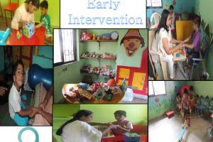 """"""" SRUJAN : Holistic approach  for Early Intervention & Stimulation Therapy  Project for 0 to 6 years old children."""""""