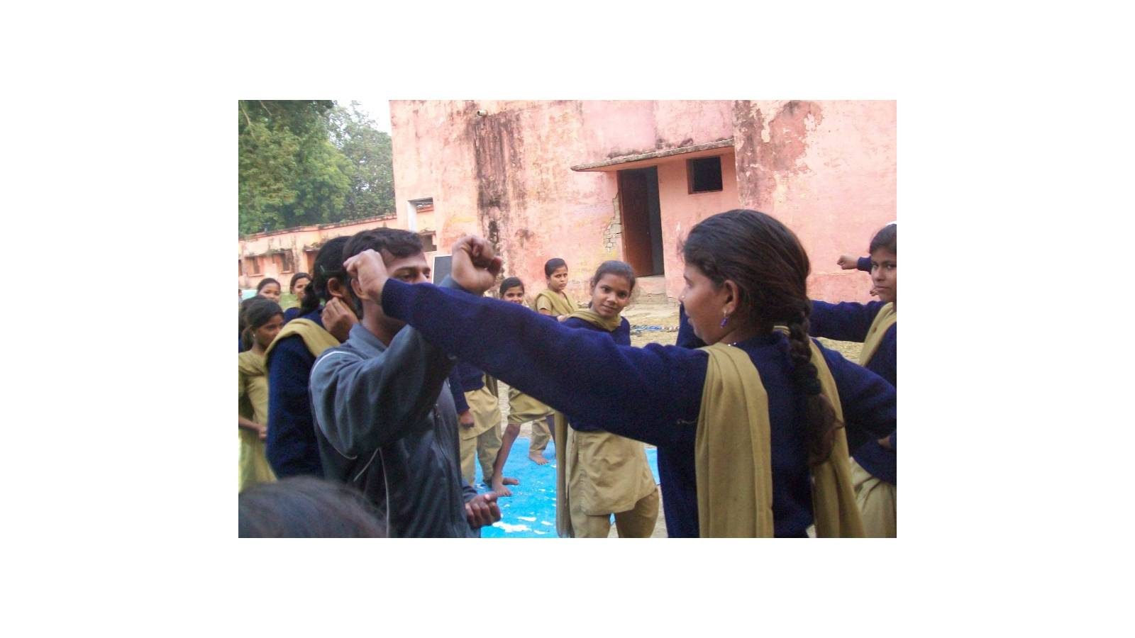 Self Defence Training of KGABV'students.
