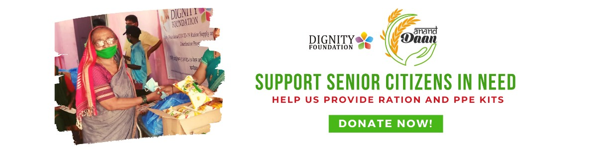 Help Us Provide Urban-poor Senior Citizens With Ration and PPE Kits.