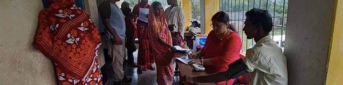 Medical Camps in COVID 19 and AMPHAN hit Sundarbans