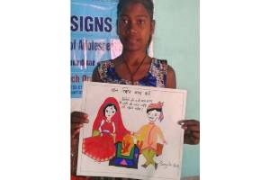 'SPANDAN' (he Beat) - Reaching out to Girls at risk and affected by COVID-19