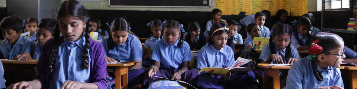Bridging The Digital Divide with the Library-in-a-Classroom from Pratham Books