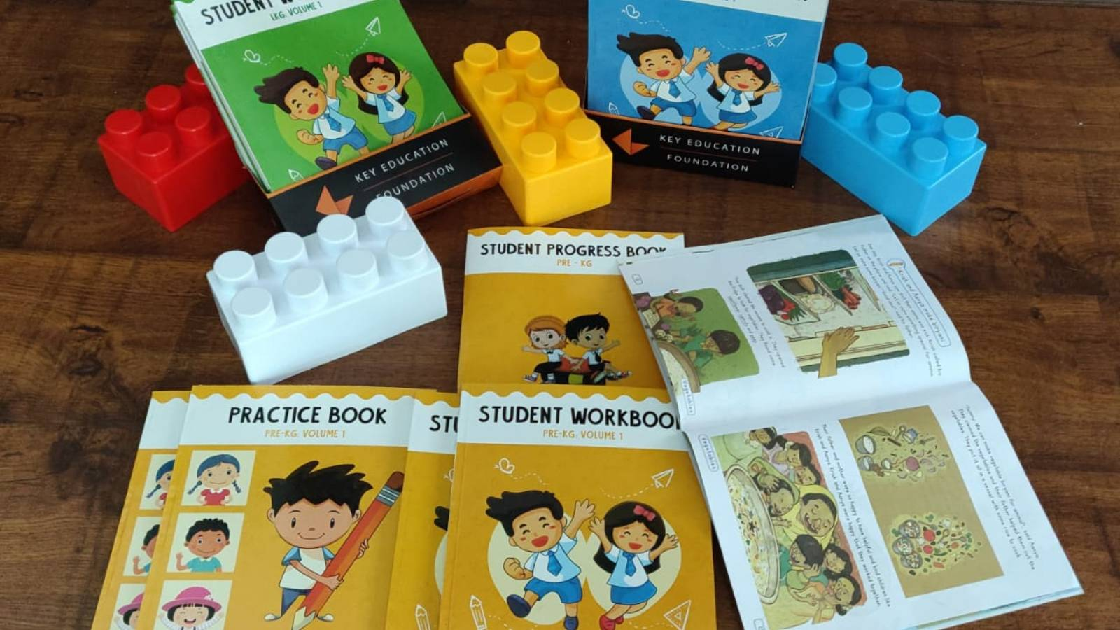 Student Workbook given to every child