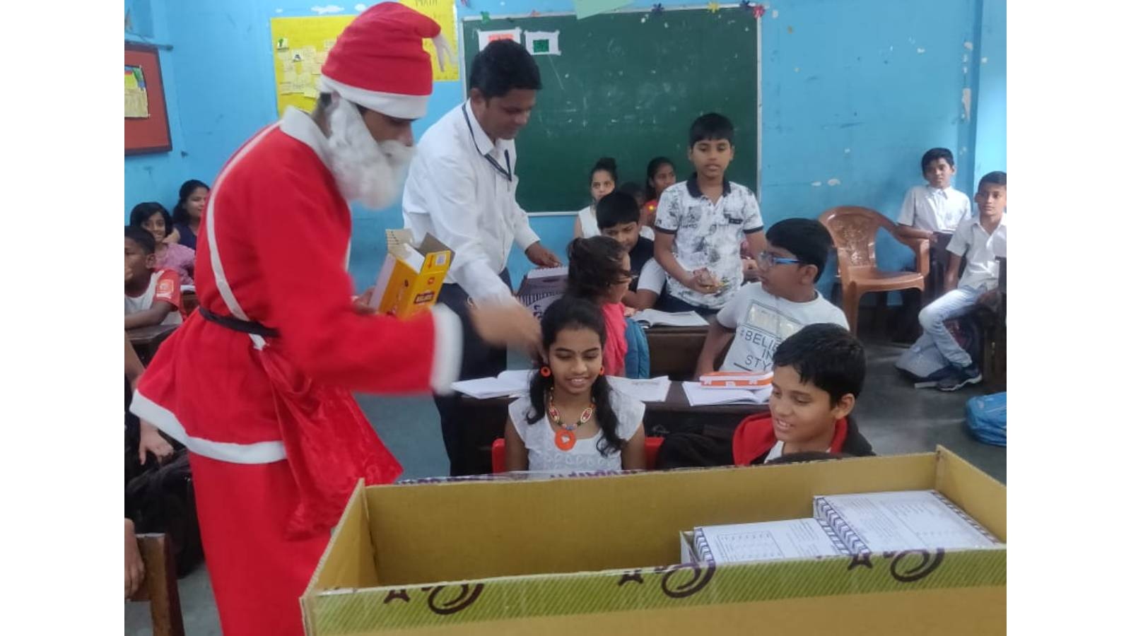 Gift an underprivileged child from Mumbai the Wings of quality education in an English medium school with a holistic program!
