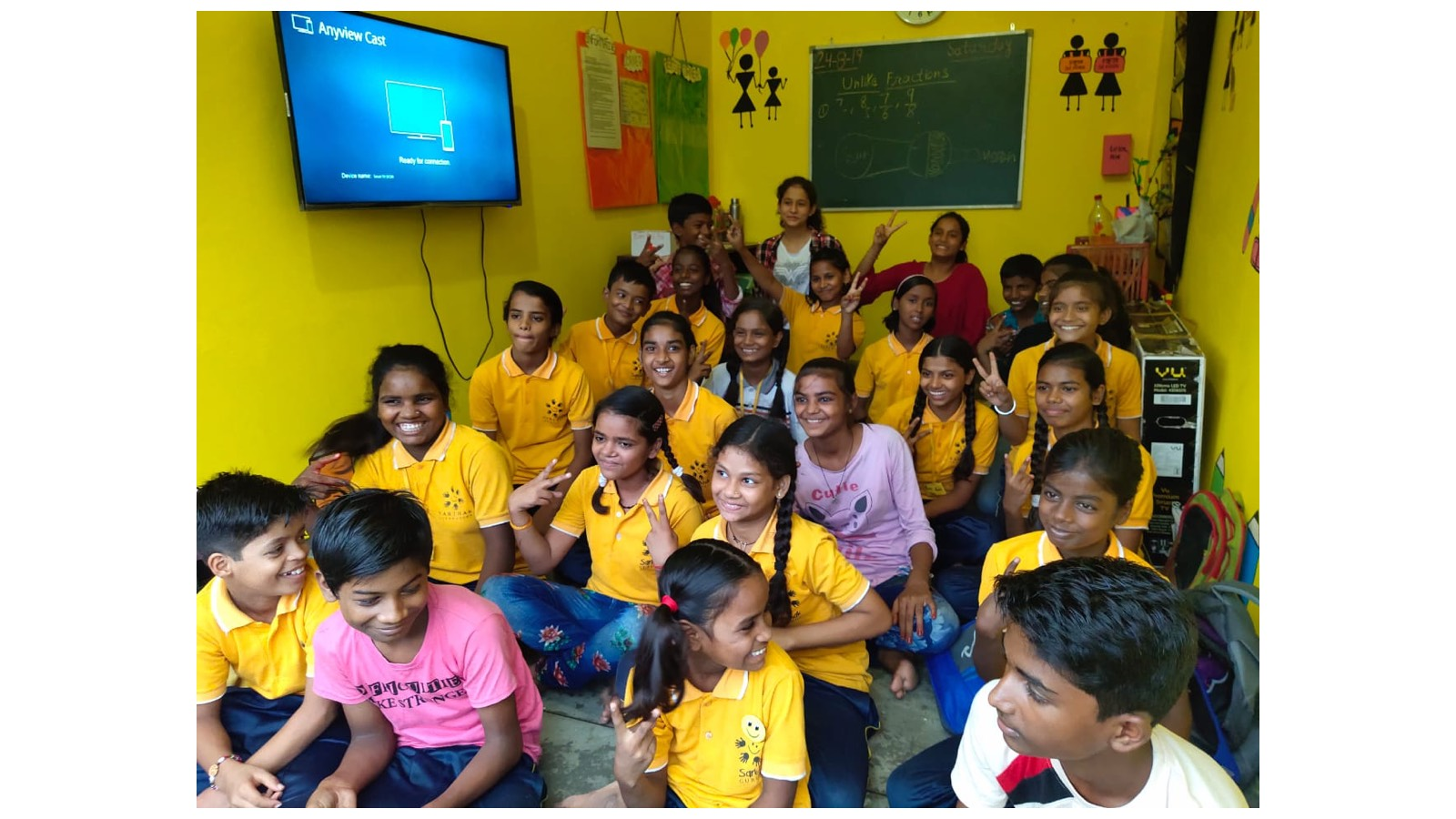Yellow Rooms For Education and Socio-Emotional Well-Being of Children in Slums