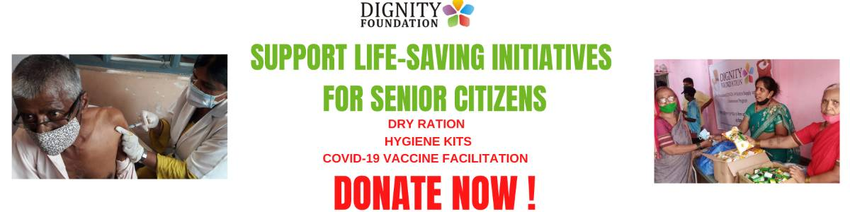 Help us Save lives of Indian Urban-poor Senior Citizens by providing Ration, Sanitization Kits, and COVID-19 vaccination support