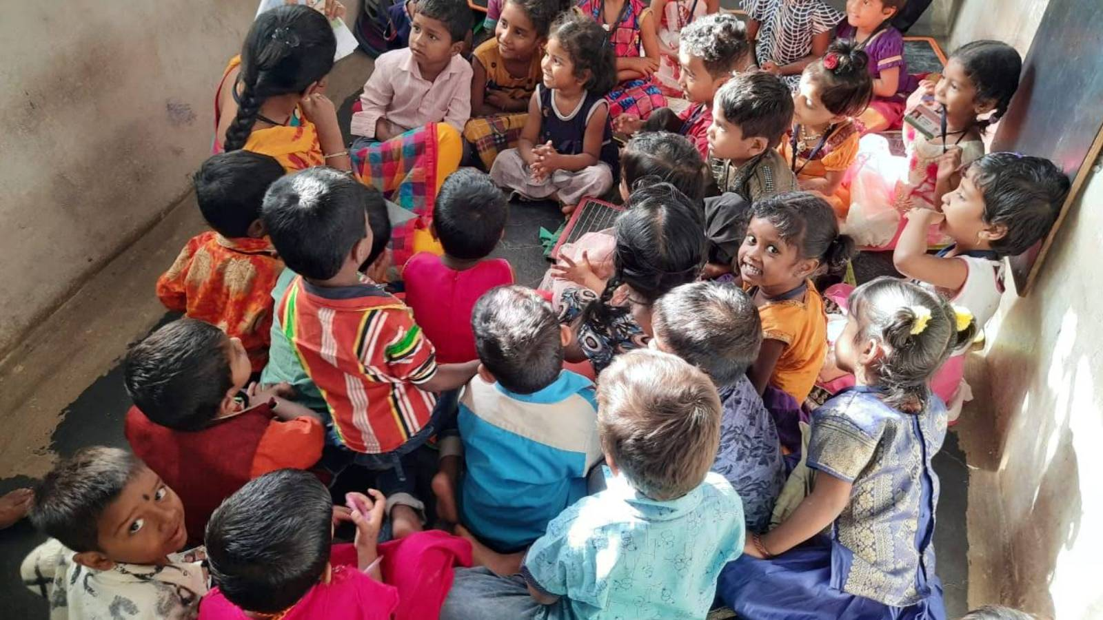 Reducing child literacy in rural India
