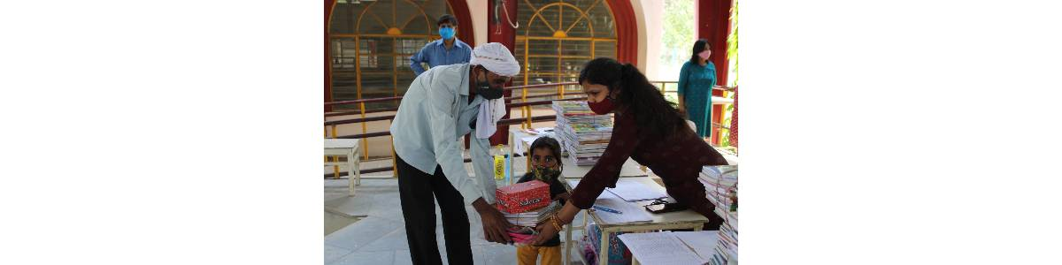 Support an underprivileged/ disabled child's education